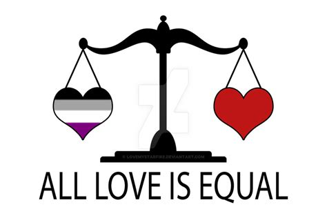 love  equal  asexual heart  lovemystarfire