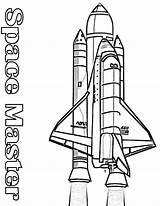 Rocket Coloring Nasa Space Pages Shuttle Booster Its Colouring Outline Rockets Printable Drawing Spaceship Kidsplaycolor Play Books Clipart sketch template