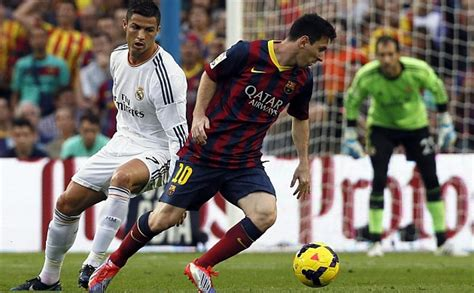 Barcelona-Real Madrid: Messi gris, Cristiano sin gol ...