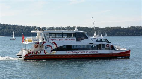 Catamaran Ferry Australia by Fantasea 8 Seasons 24 Metre Tall High Speed Catamaran