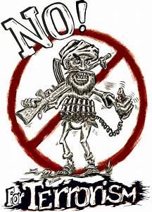 No Terrorism poster by Willhorn on DeviantArt