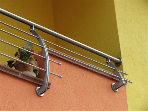ringhiera per esterni bruno acciai ringhiera per balconi in acciaio inox