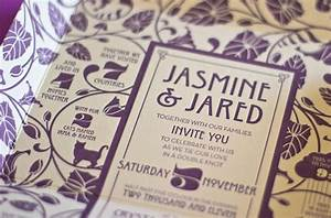 self mailing art nouveau wedding invitations invitation With wedding invitation for self