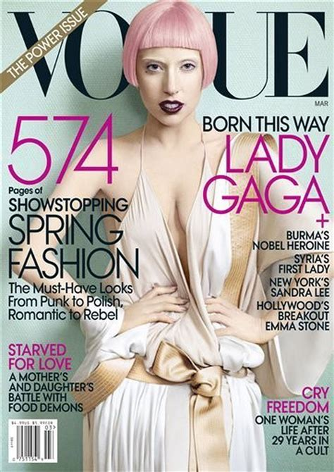 Lady Gaga in Vogue: Fans deserve 'best album of the decade ...