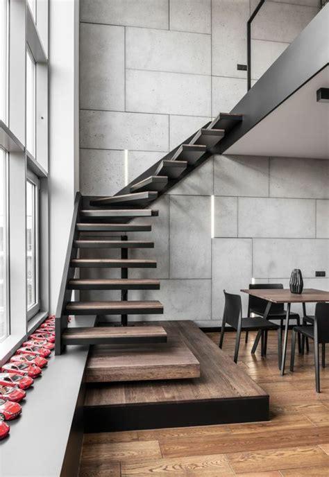 idee relooking cuisine escalier bois escalier moderne