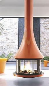 Insert A Granule Pour Cheminee : cheminee centrale a granule ~ Dode.kayakingforconservation.com Idées de Décoration