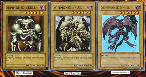 summoned skull deck 2017 dueling archetype card review summoned skull
