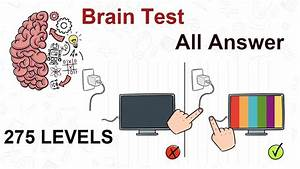Brain Test  Guide For All 275 Levels Answers And