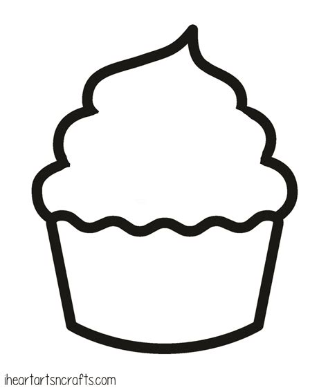 cupcake template printable paint cupcake craft for i arts n crafts