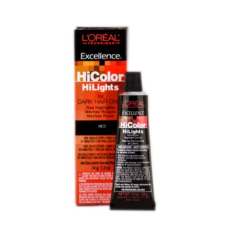 hi color loreal l oreal technique excellence hicolor hightlights for