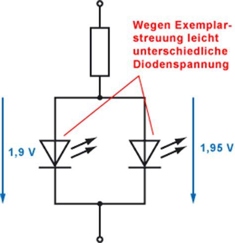 leds  reihe oder parallel schalten elektronik tipps