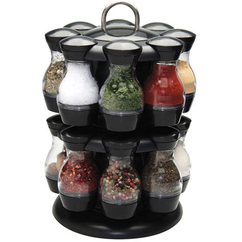 Apollo Spice Rack by Apollo Spice Carousel With 16 Jars Rotating Spice Rack