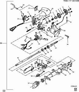 1992 Geo Metro Tilt Steering Lever Repair