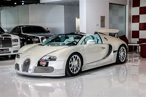 Buggatti For Sale by Stunning White And Chrome 2013 Bugatti Veyron Grand Sport