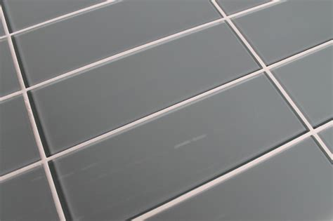 4x12 Subway Tile Daltile by Chimney Smoke Blue Gray 4 Quot X 12 Quot Glass Subway Tile
