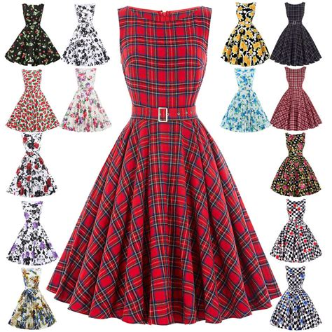 damen vintage er er jahre kleider petticoat pin