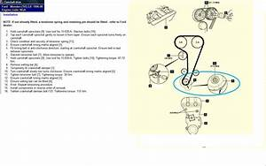 Ford Focus Valve Timing Marks