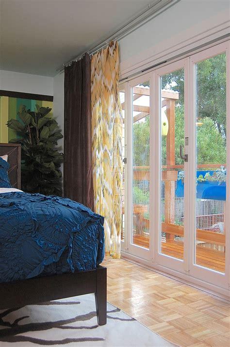 sensational sliding glass door curtains decorating ideas