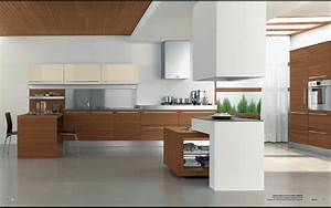 Modern geo e geo b kitchen design stylehomesnet for Modern house kitchen interior design