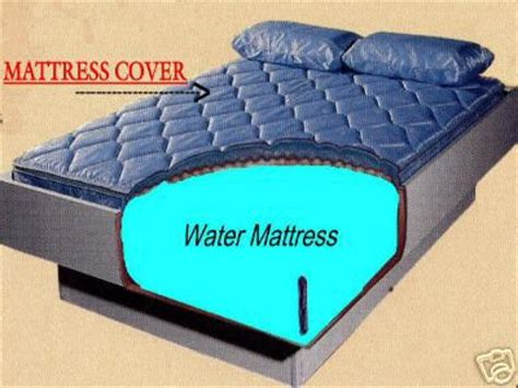 Waterbed Mattress Cover by Hardside Waterbed Mattress Cover 1 800 205 8003