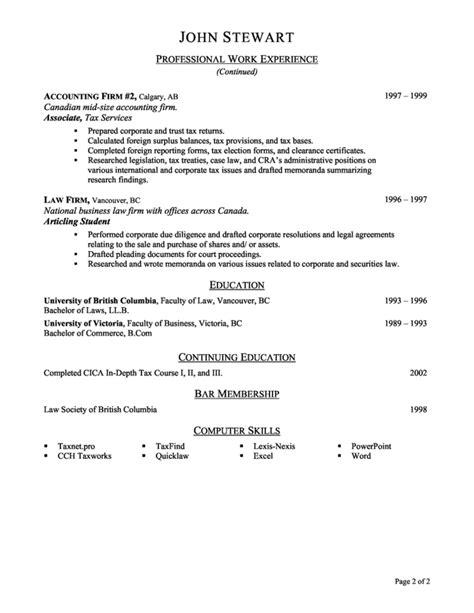 internship resume sle resume name accounting internship resume sle 28 images accounting
