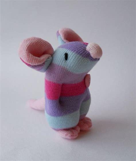 miniature sock mouse sewing stuffed animals sock dolls