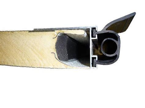 joint bas 1 l 232 vre pour porte de garage abc hublots