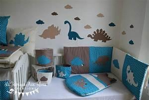 Deco Chambre Bebe Bleu : deco chambre bebe bleu petrole visuel 6 ~ Teatrodelosmanantiales.com Idées de Décoration