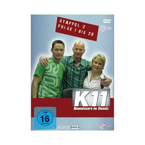 k11 kommissare im einsatz staffel 2 folge 1 20 4 dvds jpc