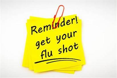 Flu Shot Reminder Clinics Vaccine Influenza Staff