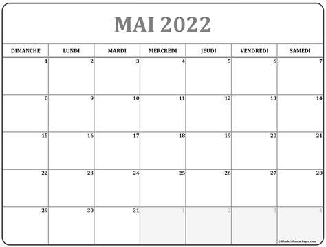 mai  calendrier imprimable calendrier gratuit