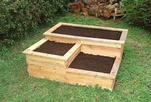 Bac En Bois Pour Potager : diy carr potager en bois de palette le blog de b a ~ Dailycaller-alerts.com Idées de Décoration
