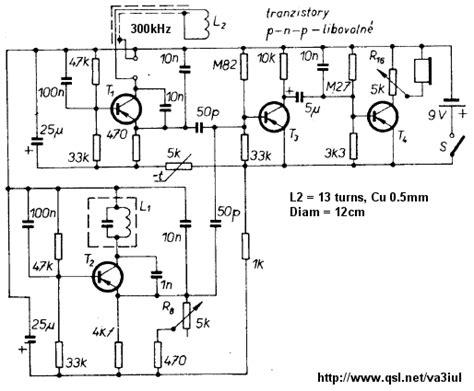 Metal Detector Circuit Diagrams Projects
