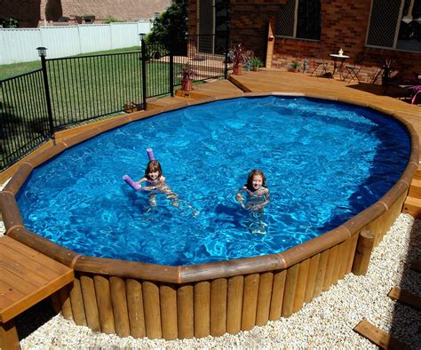 Above Ground Pool Decks Ideas by Above Ground Pools With Decks All Types Of Pool Deck