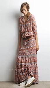 Robe Longue Style Boheme : robe longue boheme robe boheme longue reves de princesse ~ Dallasstarsshop.com Idées de Décoration