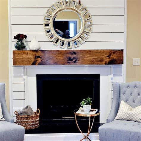 Shiplap Fireplace by Mimosa Design Co On Instagram Our Post Shiplap
