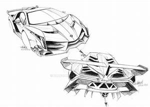 Lamborghini Egoista Drawing | 2017 / 2018 Cars Reviews