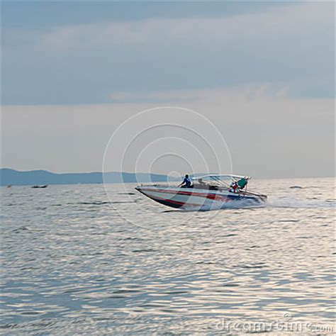 Driving Boat In Dream by Motor Boat Driving Motion Speed Boat Stock Image Image