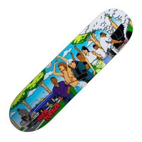 primitive skateboarding nick tucker bbq skateboard deck 8