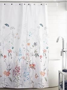 Rideau De Douche : le rideau de douche champs en fleurs simons maison ~ Voncanada.com Idées de Décoration