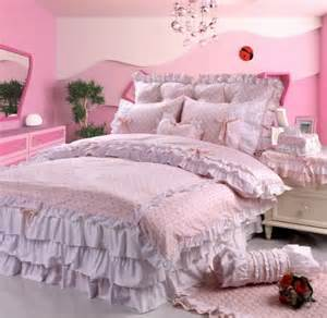 pink polka dot lace bowtie princess bedding bedding polka dot bedding