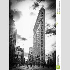 The Famous Flatiron Building  New York City Editorial