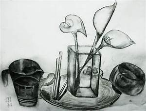 Still Life Drawing - Shan