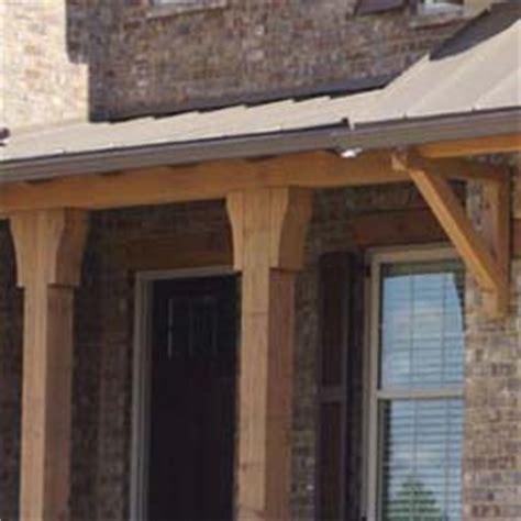 Porch Post Corbels by Cedar Bracket Corbel And Gable Ideas Adding Cedar For