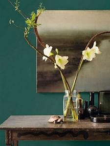 inspirations pour une deco en vert fonce joli place With couleur tendance pour salon 18 inspirations deco en vert fonce joli place