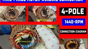 Three Phase Motor Winding Connection   Star Delta Connection
