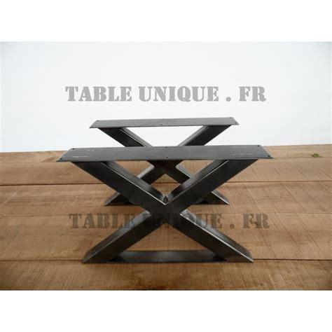 pieds de table en x pieds de table en m 233 tal