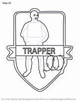 Step Siege Rainbow Six Trapper Draw Drawing Tutorials sketch template