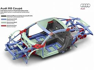 New Audi Space Frame with high proportions of aluminum and ...
