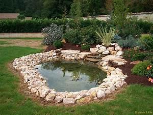 Fontaine Cascade Bassin : stunning installateur bassin de jardin gallery design ~ Premium-room.com Idées de Décoration